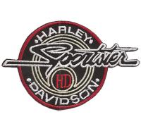 Harley Davidson SPORTSTER HD Biker Patch Aufbügler Abzeichen Aufnäher