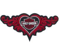 HERZ TRIBAL Harley Davidson Motorcycle Tattoo Lady Biker Aufnäher Patch Abzeichen