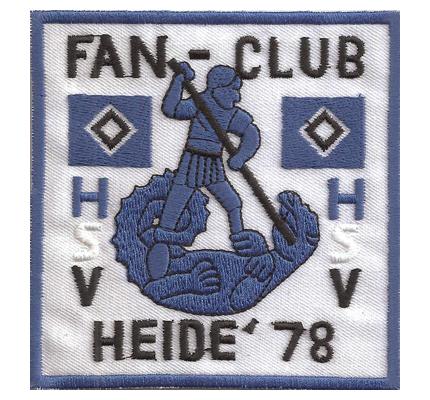 HSV FanClub Heide78 Hamburg SV Ultras Patch Trikot Aufnäher Abzeichen