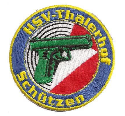HSV Thalerhof Schützen Glock Pistole Polizei Verein Club Abzeichen Patch