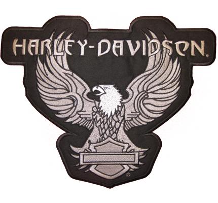MEGA Harley Davidson XXXL EAGLE Adler Greif Biker BACKPATCH Motoradjacke Aufnäher