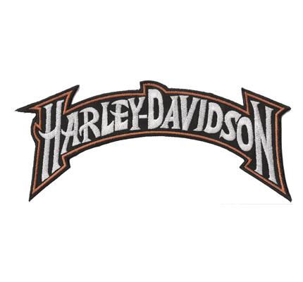 Harley Davidson Backpatch Retro Classic V21 Aufnäher Backpatch XXL