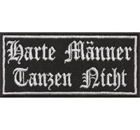 Alt Deutsch, Harte Männer, Tanzen Nicht, Rocker Heavy Metal Patch Aufnäher