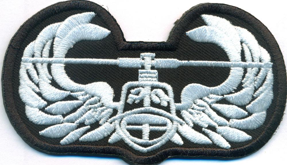 Helikopter Hubschrauber Pilot Airforce Helicopter Abzeichen Aufnäher Patch