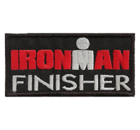 IRONMAN finisher Triatlon Extremsport Trikot sportbekleidung Aufnäher