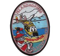 Islandhopper Christop 26 Anderbusch Helikopter Hubschrauber Abzeichen Aufnäher Patch