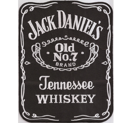 jack daniels xxl backpatch tennessee whiskey old no 2 5 7. Black Bedroom Furniture Sets. Home Design Ideas