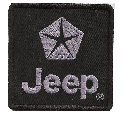 Jeep Logo Wrangler Patriot 4x4 Offroad King SUV Tuning Aufnäher Patch