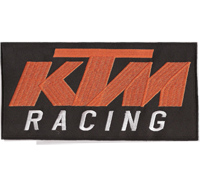 KTM RACING XXL BACKPATCH Team Rock Shox Superbike Motocross Aufnäher