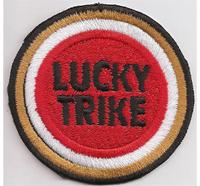LUCKY TRIKE Triker Lucky Strike Biker Tuning Patch Aufnäher Abzeichen