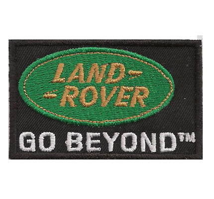 Land Rover Go beyond Defender Freelander tuning 4x4 Patch Aufnäher