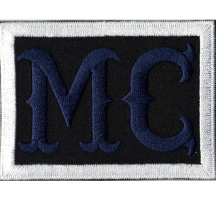 MC Navy White Motorcycle Club Sons of Anarchy Biker Patch Aufnäher Abzeichen