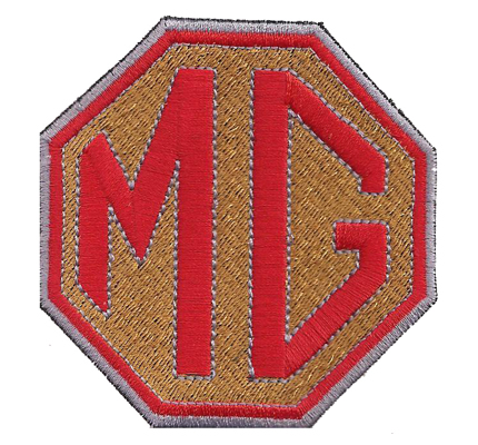 MG MGFX mgb mgtf motor Racing tuning Aufnäher Patch Abzeichen