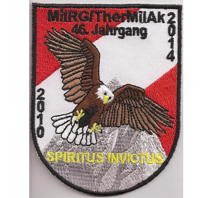 Österreichisches Bundesheer MILAK 2010-14 Spiritus Invictus 46 Jg Abzeichen
