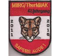 Österreichisches Bundesheer MILAK 2011-15 Sapere aude 47jg Aufnäher