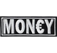 MONEY Mon€y Geld Luxus Biker Business Man Biker Rockabilly Aufnäher Patch Aufbügler