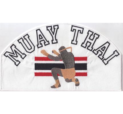 MUAYTHAI Muay Thai Thaiboxen Kickbox Kampfsport Abzeichen Aufnäher Patch