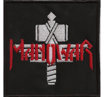 ManoWar 100  sign of the hammer Heavy Metal CD Album Aufnäher Patch