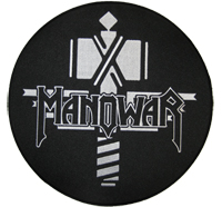 MANO WAR ManoWar Sign of the Hammer BACKPATCH XXXL Jacken Aufnäher