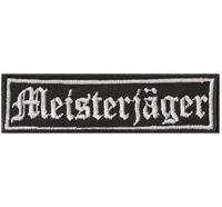 MEISTERJÄGER Kutten TAB Jägermeister Biker Patch Aufnäher Abzeichen