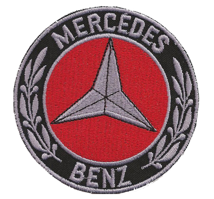 Vintage Mercedes Benz Sports Classic Cars Automobile Sticker Schild Patch