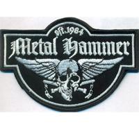 Metal Hammer Thrash Metal Wacken Kutte Winged Skull Biker Aufnäher Patch
