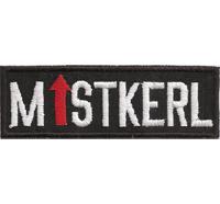 MISTKERL Bad Ass Biker Rocker Heavy Metal GTI Tuning Patch Aufnäher Abzeichen