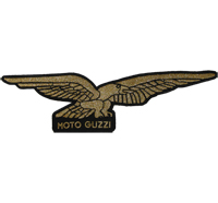 Moto Guzzi ADLER XXXL Backpatch Motorcycle Motoguzzi Biker Aufnäher