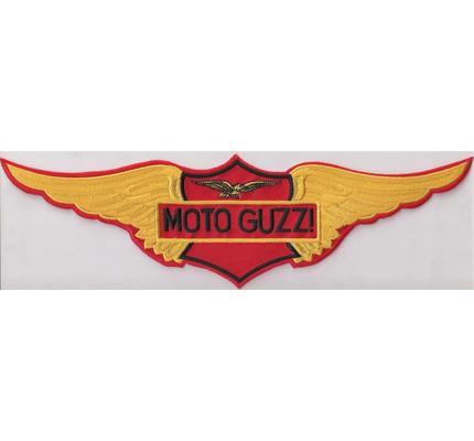 Moto Guzzi WING BACKPATCH UNA STORIA moto guzzi Aufnäher Patch