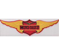 Moto Guzzi WING BACKPATCH UNA STORIA moto guzzi Aufnäher Patch