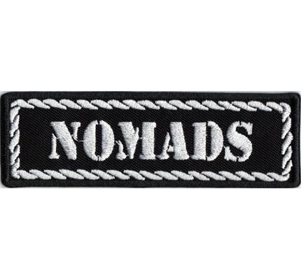 NOMADS Biker MC Motorcycleclub Rangabzeichen Tab