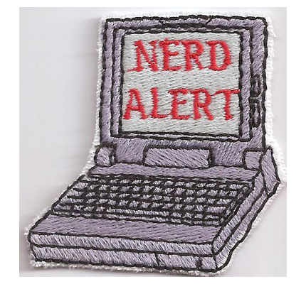 Nerd Alert EDV Hacker Cracker The Big Bang theory Sheldon Aufnäher Patch