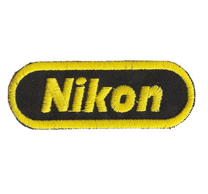 Nikon Logo Digital Kamera Kameratasche Etui Fotografen Aufnäher Patch