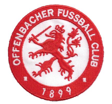 Offenbacher Fussball OFC Kicker 1899 Patch Trikot Aufnäher Patch