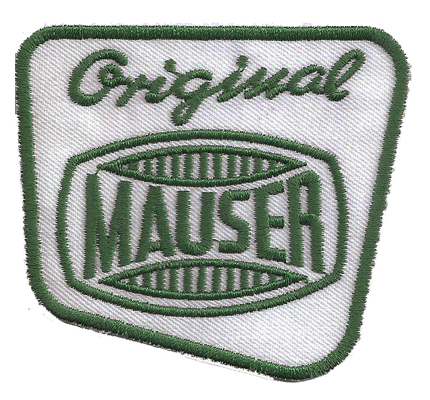 Original Mauser Waffen Sporting Rifles Magazine Angler Aufnäher Patch