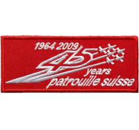 Patrouille Suisse 45 Years 1964 2009 Jet Military Luftwaffe Aufnäher Abzeichen