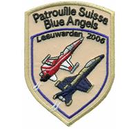 Patrouille Suisse Blue Angels Leeuwarden 2006 Luftwaffe Aufnäher Abzeichen