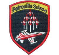 Patrouille Suisse Patrol Swiss Jet of Arms Luftwaffe Patch Aufnäher Abzeichen