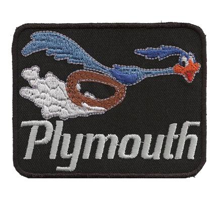 Plymouth Roadrunner US Car bausatz Sitzbezüge Teppich tuning Aufnäher Patch