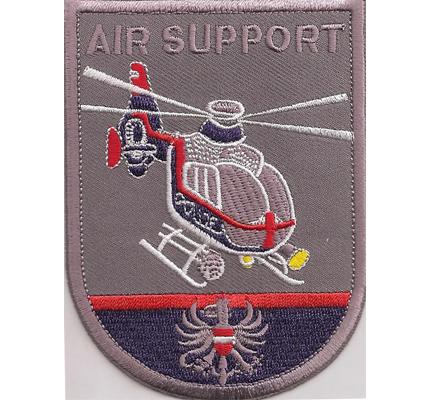 Polizei Airsupport Luftunterstützung Helikopter Hubschrauber Abzeichen Aufnäher