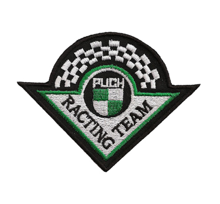 Puch Racing Team Logo falsch Vintage Retro Aufnäher Patch