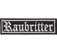 RAUBRITTER, KREUZZÜGE, Motorrad Club Rangabzeichen Biker Aufnäher Patch Abzeichen