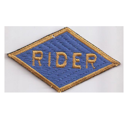 RIDER US Army Biker Patch Free Rider Shoulder Patch Abzeichen Aufnäher