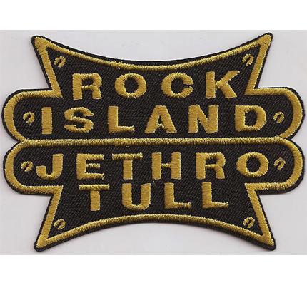 ROCK Island Jethro tull Musik Album Patch Aufnäher Abzeichen Badge