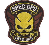 Resident Evil Spec OPS Field UNIT Specialforce Uniform Umbrella Aufnäher Patch