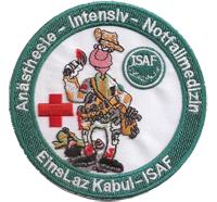 Rettungsdienst EMS EMT Paramedic Isaf Bundeswehr Aufnäher Patch Abzeichen