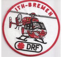 Rettungshubschrauber RTH ITH Bremen DRF Helicopter Luftrettung Abzeichen Aufnähe