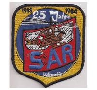 SAR Luftwaffe 25Jahre 1959 1984 RTH Rettung Hubschrauber Patch Aufnäher