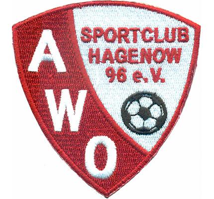SC AWO Sportclub Hagenow 96 Ball Fanclub Trikot Ultras Patch Aufnäher Abzeichen