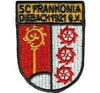 SC Frankonia Diebach 1921 Fanclub Trikot Ultras Patch Aufnäher Abzeichen